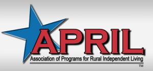 Association of Programs for Rural Independent Living APRIL) logo