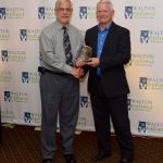 Dennis Skelley Presented Aldwin Yarbrough the Outstanding Individual Advocate Award.