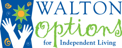 Walton Options for Independent Living Logo